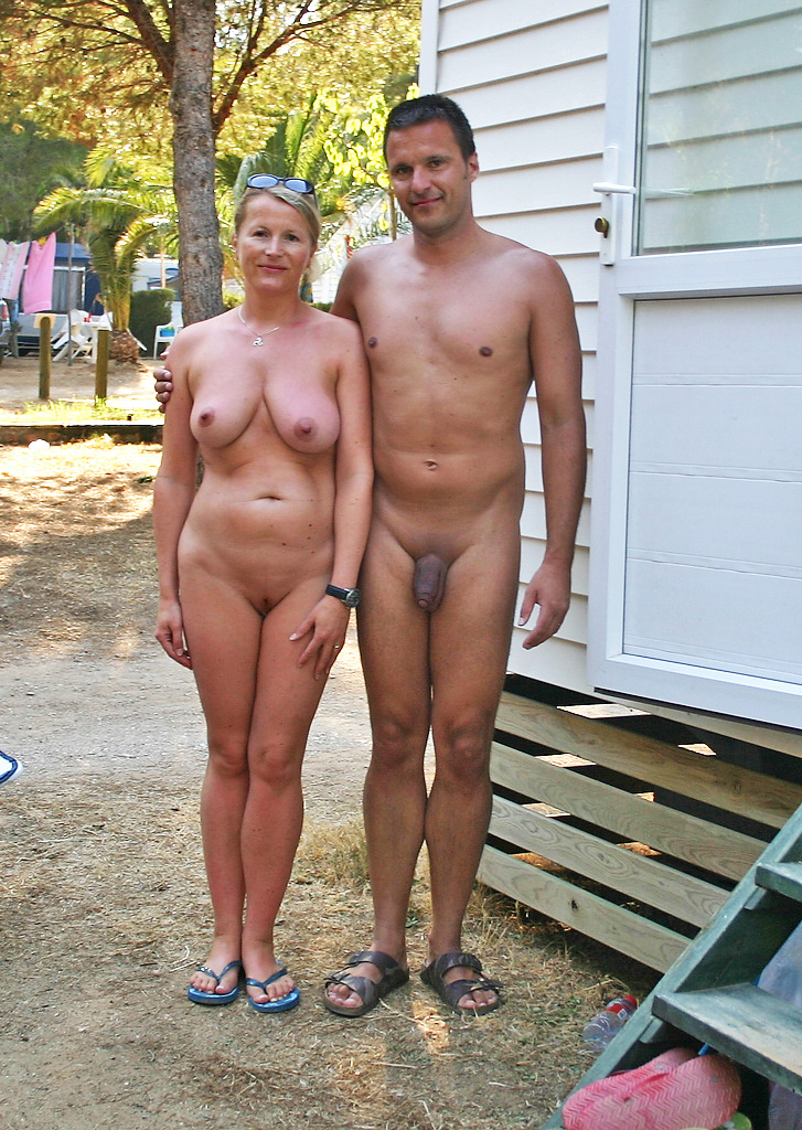 At the nudist camp