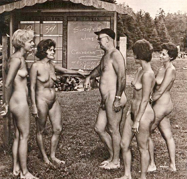 Early nudist photos